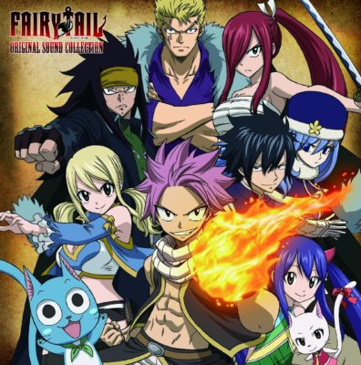 FAIRY TAIL ORIGINAL SOUND COLLECTION [Soundtrack Vol.5]