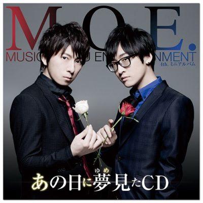 M.O.E. (Wataru Hatano / Takuma Terashima) – Ano Hi ni Yumemita CD (Album)