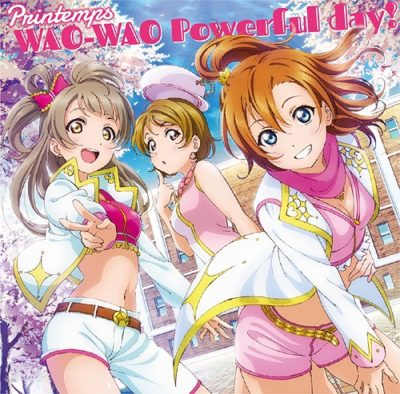 Printemps – WAO-WAO Powerful day! (Single)