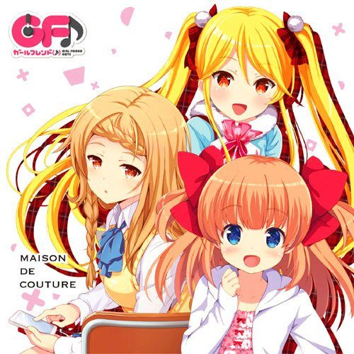 (C90) GIRL FRIEND NOTE Character Song CD: Anata dake no Maison de Couture