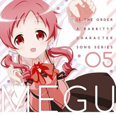 Gochuumon wa Usagi Desuka?? Character Song Series 05 Meg