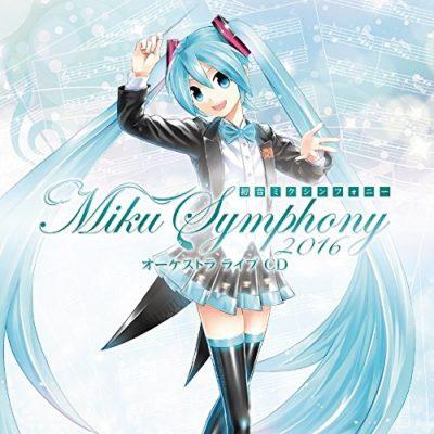 Miku Symphony 2016 Orchestra Live CD