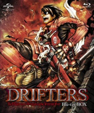 DRIFTERS Soundtrack Black Disc & Red Disc