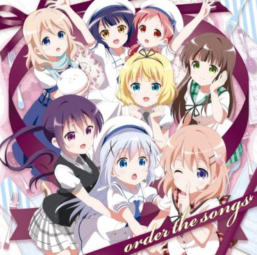 GochiUsa Character Song Selection Album: order the songs