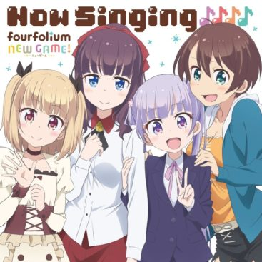 NEW GAME! Character Song Mini Album Now Singing♪♪♪♪