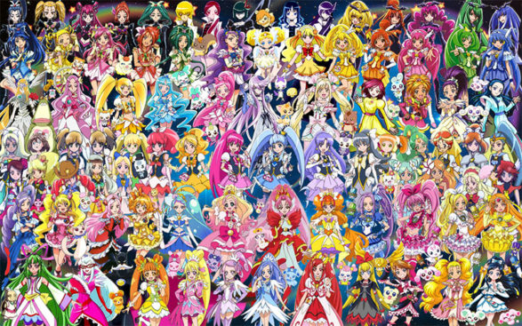Pretty Cure [All Series] (Music Collection)