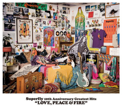 """Superfly 10th Anniversary Greatest Hits """"LOVE, PEACE & FIRE"""""""