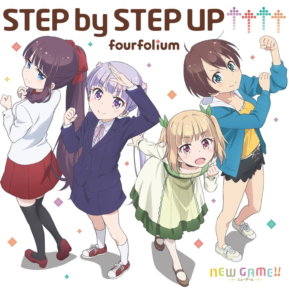 [TOP2] fourfolium – STEP by STEP UP↑↑↑↑