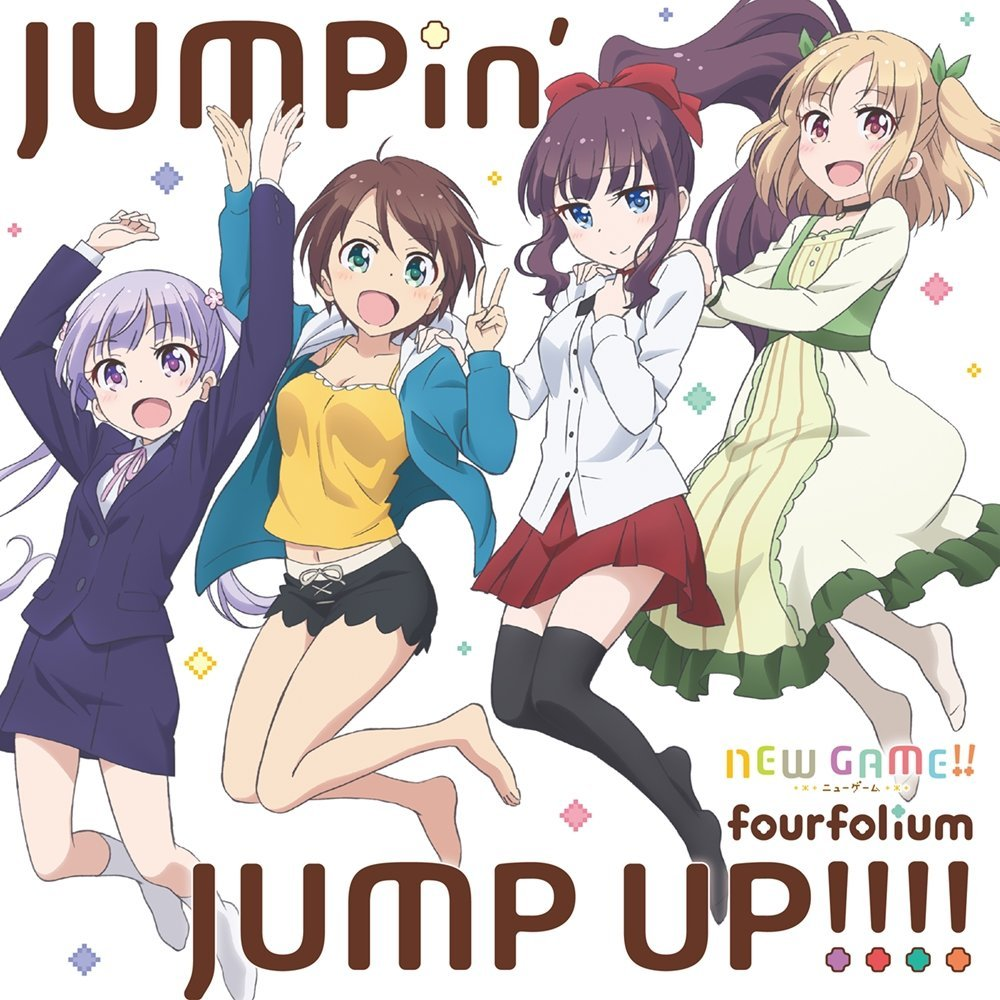 fourfolium – JUMPin' JUMP UP!!!!