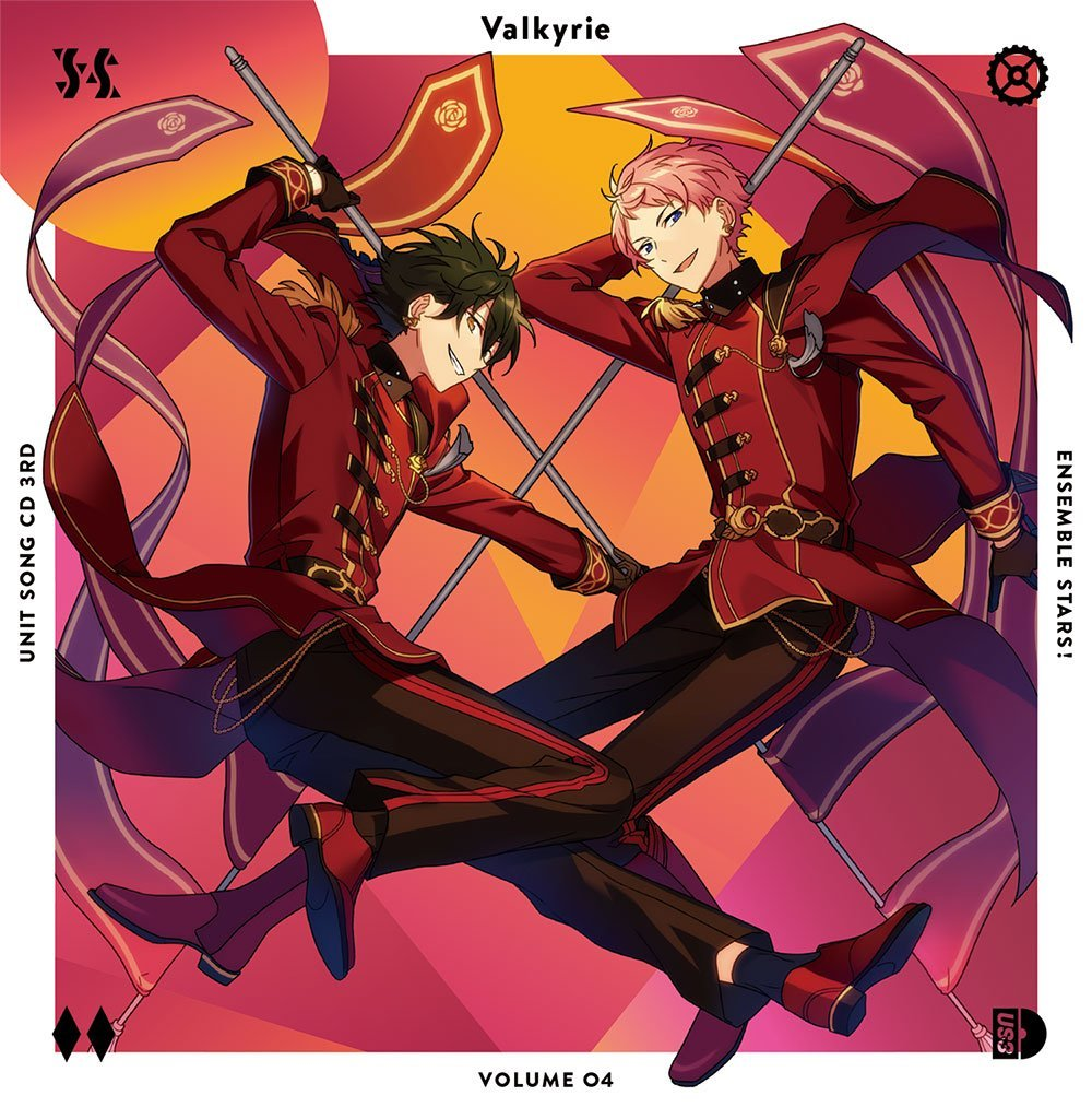Ensemble Stars! Unit Song CD 3rd Series vol.4 Valkyrie