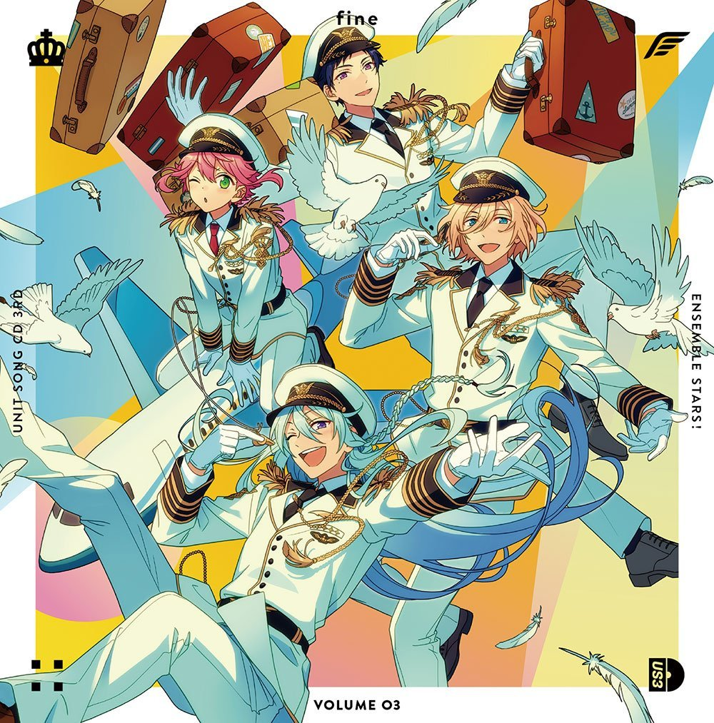 Ensemble Stars! Unit Song CD 3rd Series vol.3 fine