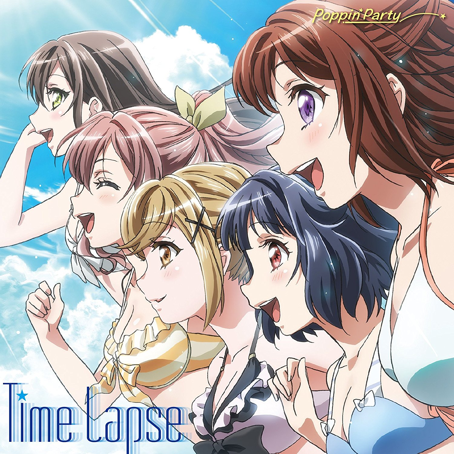 BanG Dream!: Poppin'Party – Time Lapse