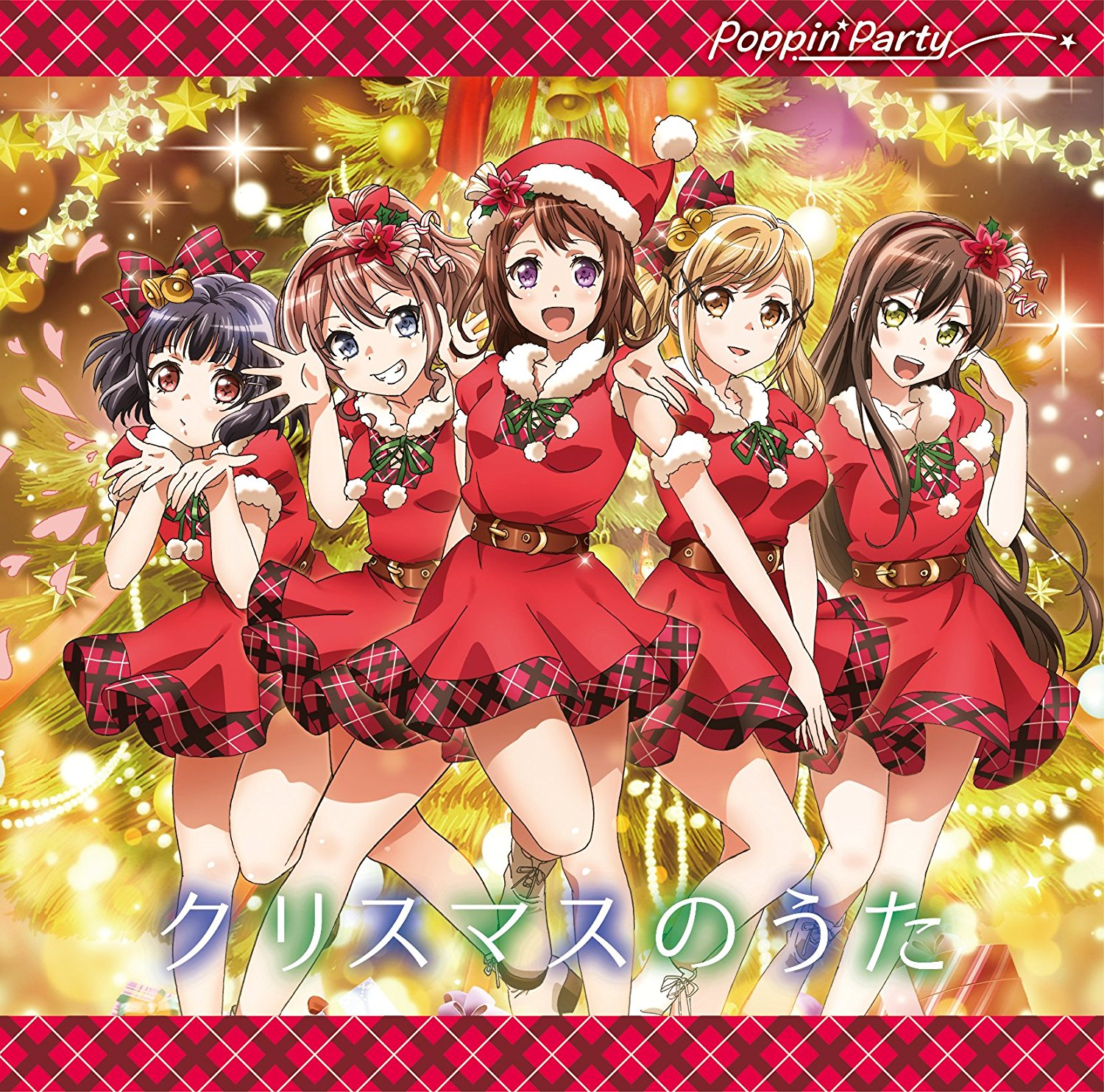 [TOP1] BanG Dream!: Poppin'Party – Christmas no Uta