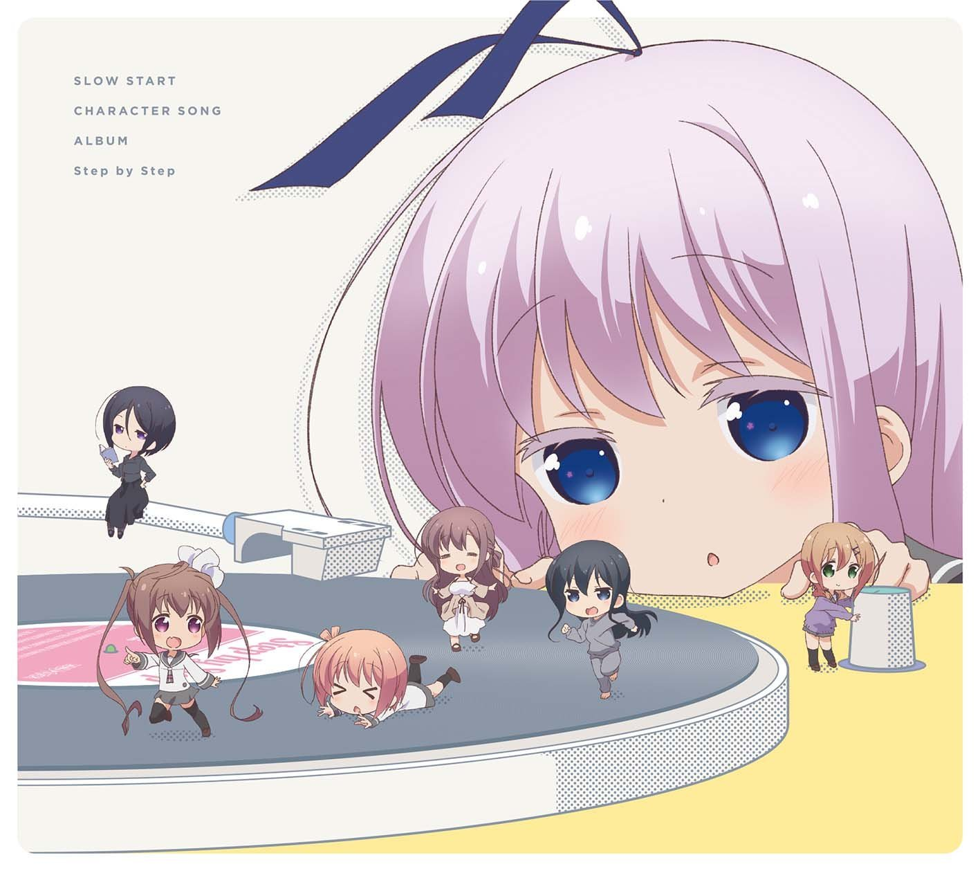 SLOW START CHARACTER SONG ALBUM: Step by Step