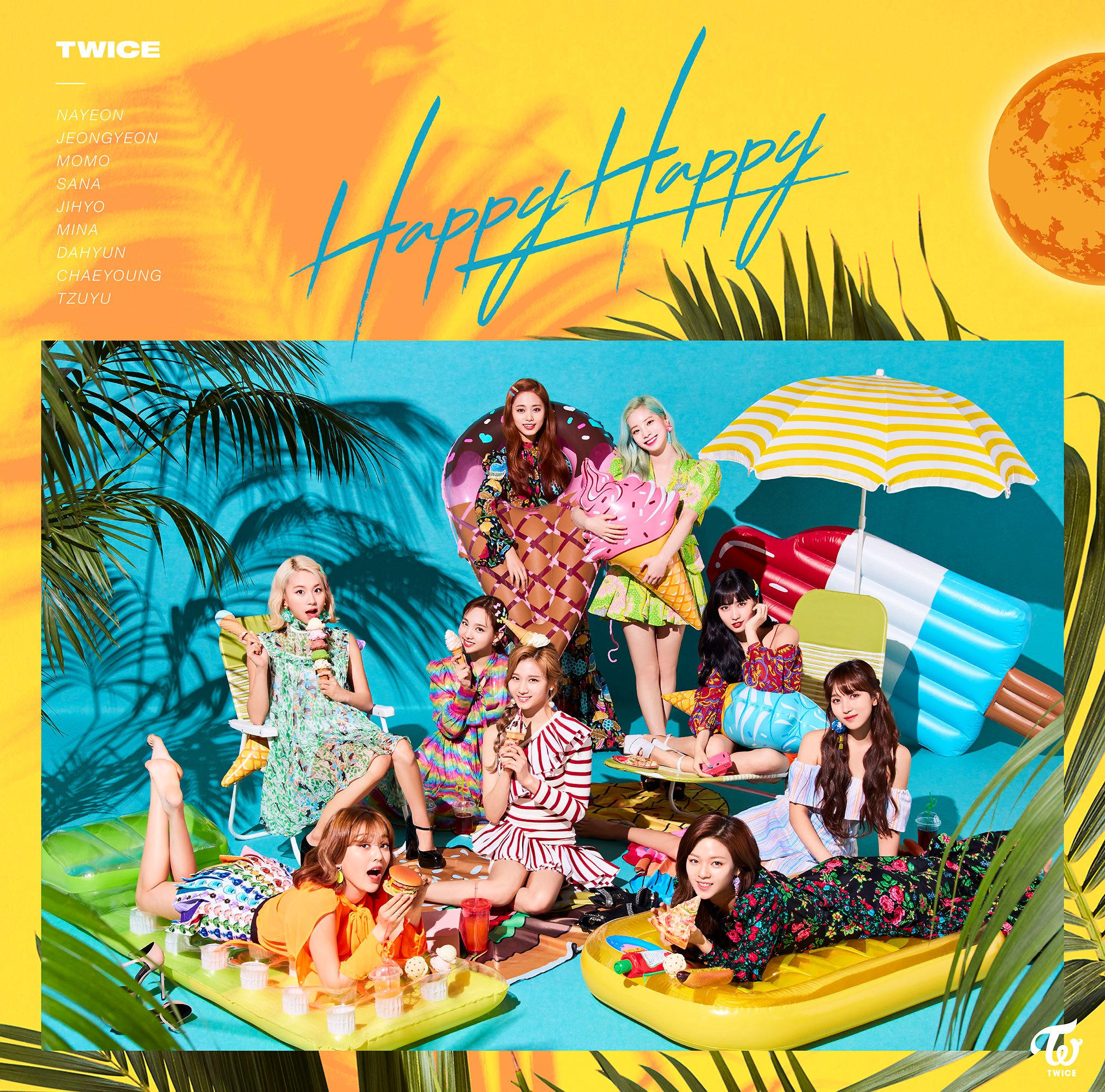 TWICE - Happy Happy Download MP3 320K DL ZIP/RAR