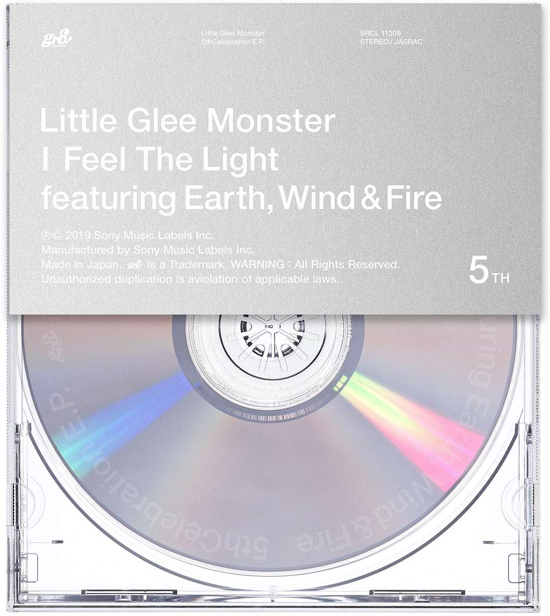 Little Glee Monster - I Feel The Light