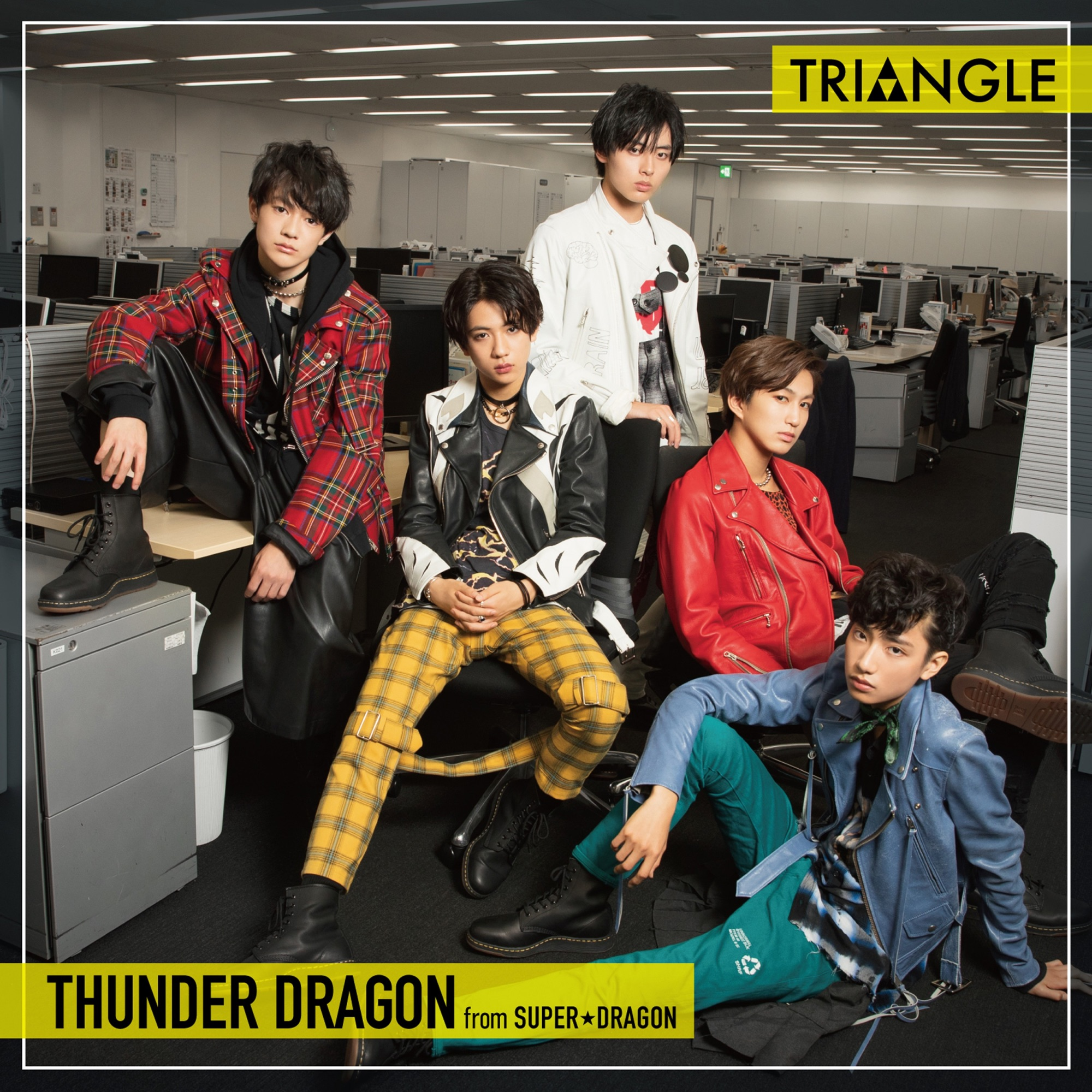 THUNDER DRAGON from SUPER DRAGON - Triangle
