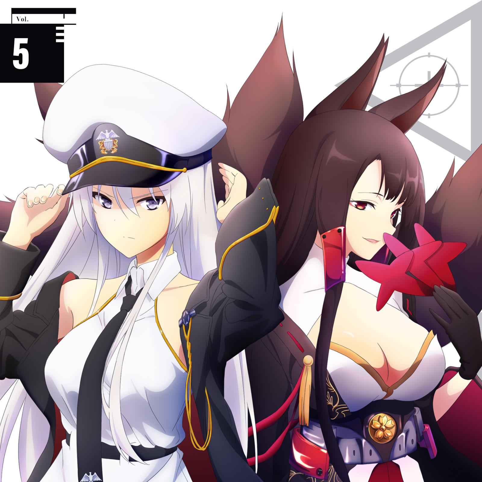Azur Lane Buddy Character Song Single Vol.5 Enterprise & Akagi  アズールレーン バディキャラクターソングシングル Vol.5 エンタープライズ & 赤城