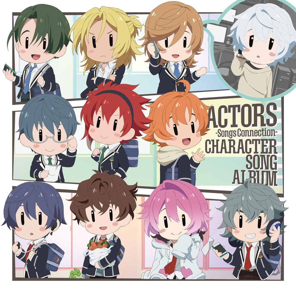 ACTORS -Songs Connection- Character Song Album   ACTORS -Songs Connection- キャラクターソングアルバム